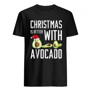 Pretty christmas is better with avocado  Classic Men's T-shirt
