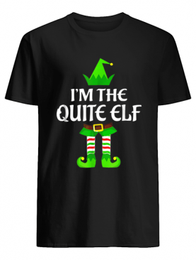 Quite Elf Family Matching Group Christmas Gift shirt