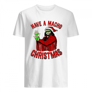 Randy Savage Have a macho Christmas  Classic Men's T-shirt