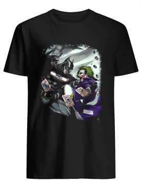 Seattle Seahawks NFL Football Batman Fighting Joker DC Comics shirt