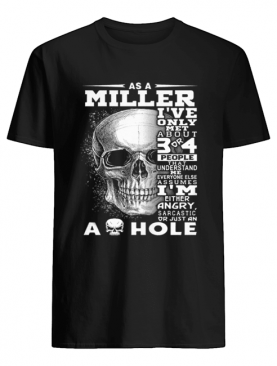 Skull As an Miller i've only met about 3 or 4 people that understand shirt