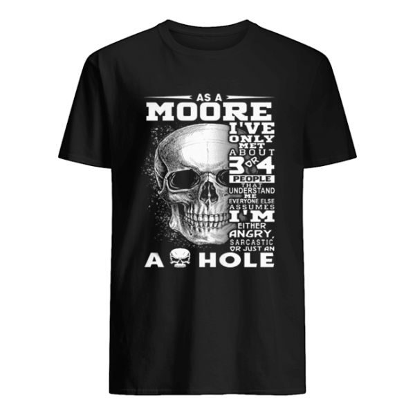 Skull As an Moore i've only met about 3 or 4 people that understand  Classic Men's T-shirt