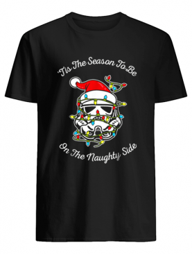 Star Wars Trooper Tangled Naughty Side Christmas shirt