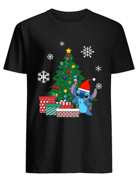 Stitch Around The Christmas Tree shirt