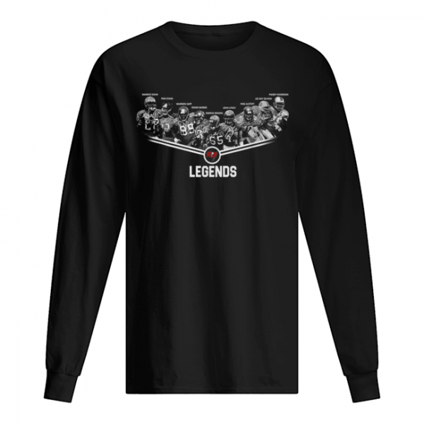 Tampa Bay Buccaneers Legends team signature  Long Sleeved T-shirt