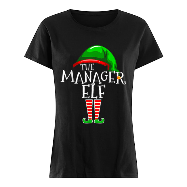 The Manager Elf Group Matching Family Christmas Gifts Boss ...