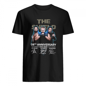 The Shield 08th Anniversary 2012-2020 Signatures  Classic Men's T-shirt