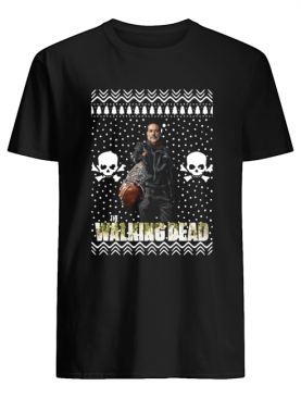 The Walking Dead Negan Santa Hat Christmas shirt