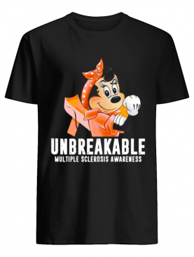 Unbreakable Multiple Sclerosis Awareness Minnie Mouse shirt