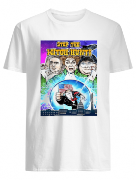 stop the witch hunt shirt