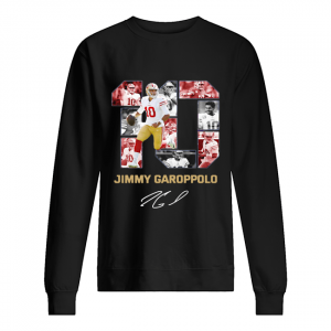 #10 Jimmy Garoppolo San Francisco 49ers Signature Sweat