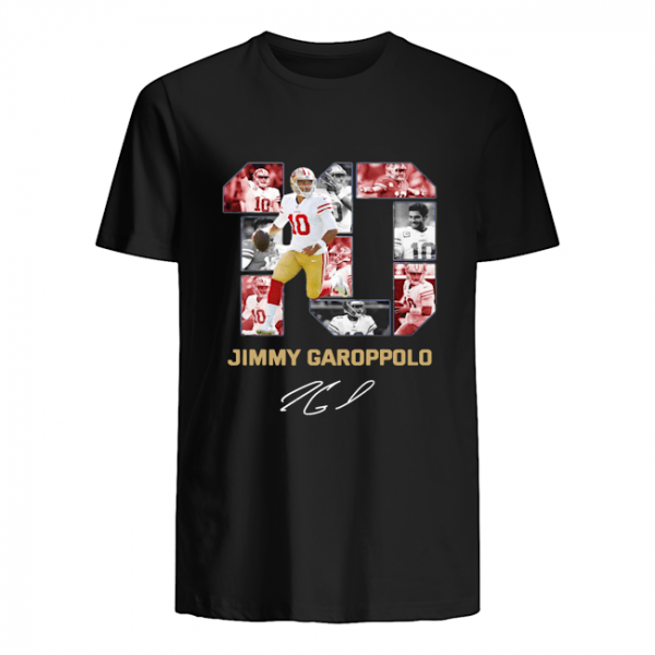 #10 Jimmy Garoppolo San Francisco 49ers Signature unisex