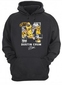 #14 Dustin Crum Kent State Golden Flashes football Signature hoodie
