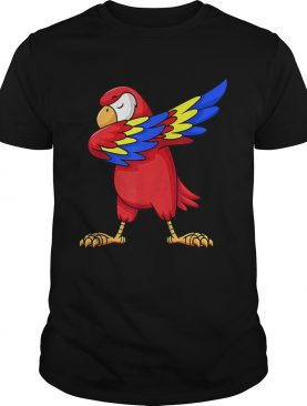 Parrot Dabbing for kids birthday party gift Family Christmas shirt