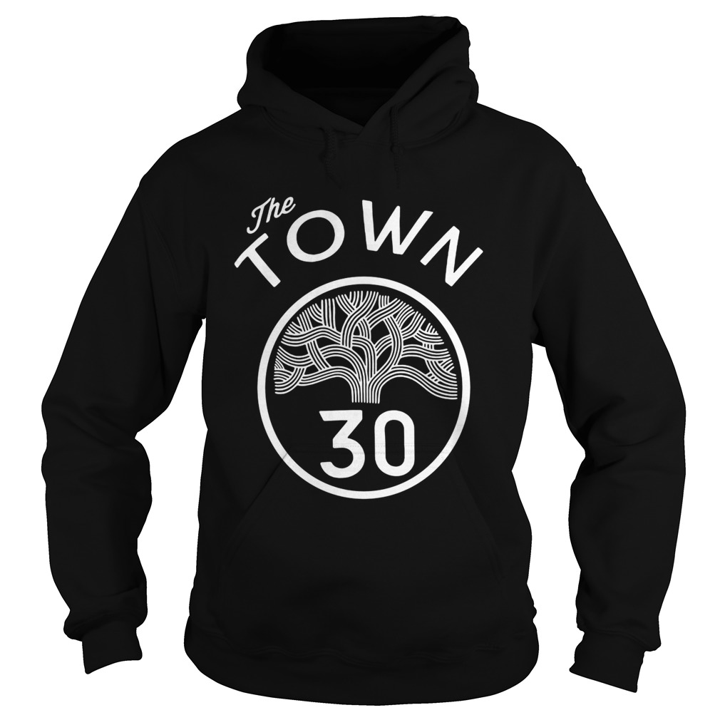 30 Stephen Curry The Town Blue Golden State Warriors Hoodie