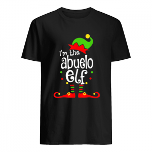 Abuelo Elf Christmas Spanish Grandpa Matching Family Xmas  Classic Men's T-shirt