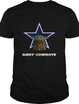 Baby Yoda Baby Cowboys Dallas Cowboys shirt