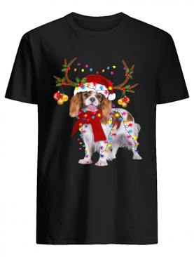 Cavalier King Gorgeous Reindeer Christmas shirt