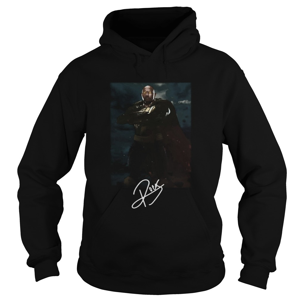Dwayne Johnson The Rock Black Adam Hoodie