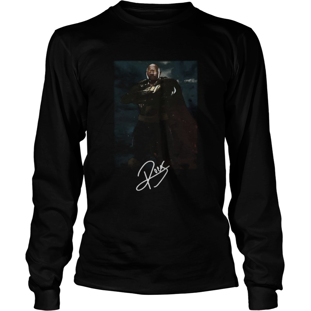 Dwayne Johnson The Rock Black Adam LongSleeve