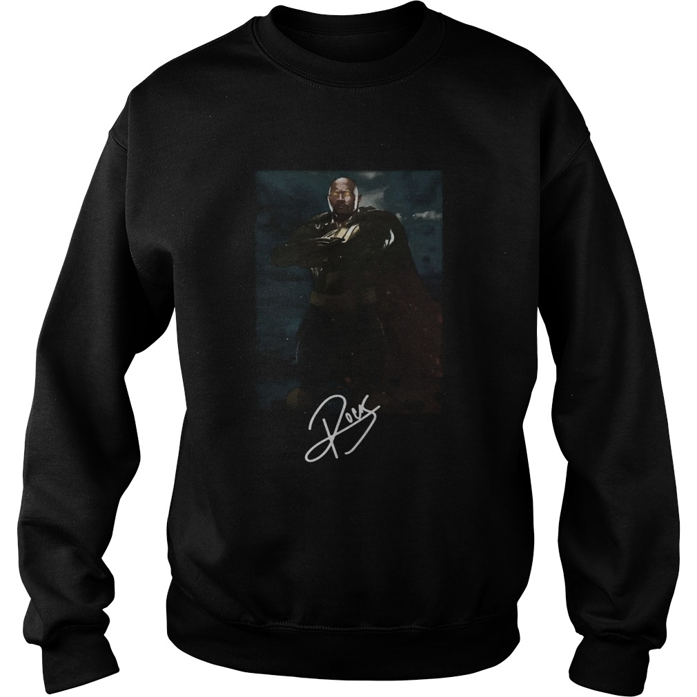 Dwayne Johnson The Rock Black Adam Sweatshirt