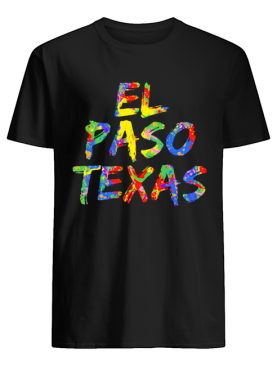 El Paso Texas Texans Colorful shirt