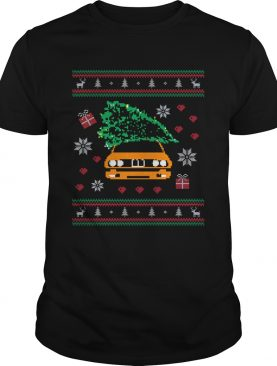 General Lee Car Christmas Tree Ugly Christmas shirt