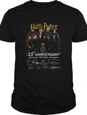 Harry Potter Character 23rd Anniversary 1997 2020 Signatures shirt