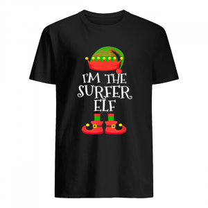 I'M THE Surfer ELF Christmas Xmas Funny Elf Group Costume  Classic Men's T-shirt
