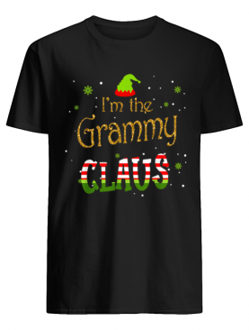 I'm The Grammy Claus Christmas shirt