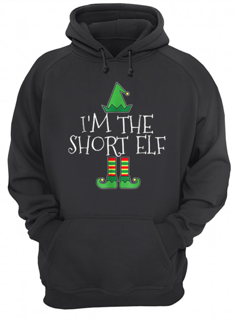 I'm The Short Elf Matching Family Group Christmas  Unisex Hoodie