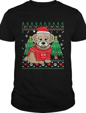 Nice Maltipoo Christmas Ornament Tree Xmas Dog shirt
