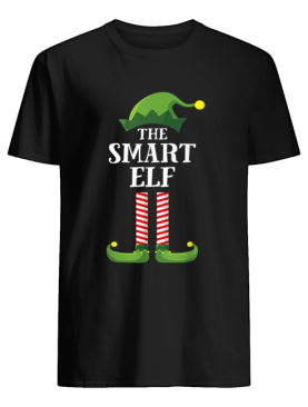 Smart Mouth Elf Matching Family Group Christmas Party Pajama shirt