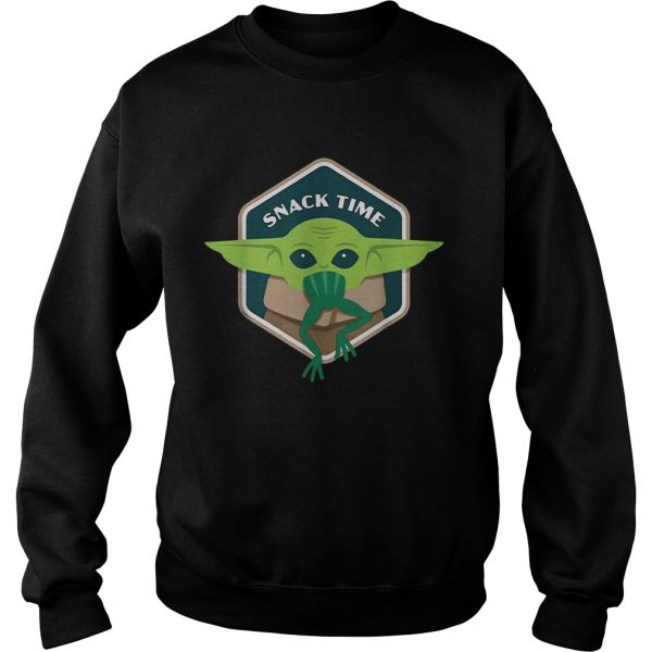 Star Wars The Mandalorian The Child Snack Time  Sweatshirt