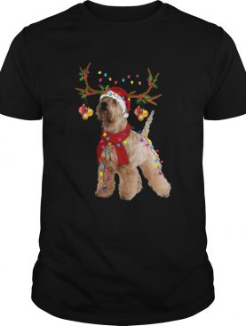 Wheaten Terrier Gorgeous Reindeer shirt