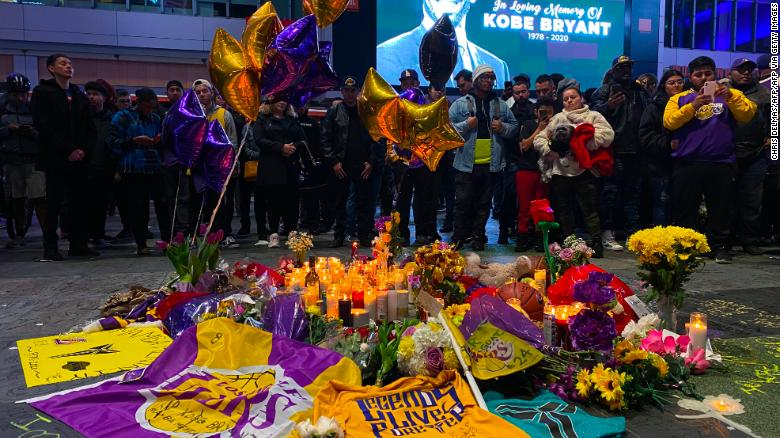A fan's homage to Kobe Bryant
