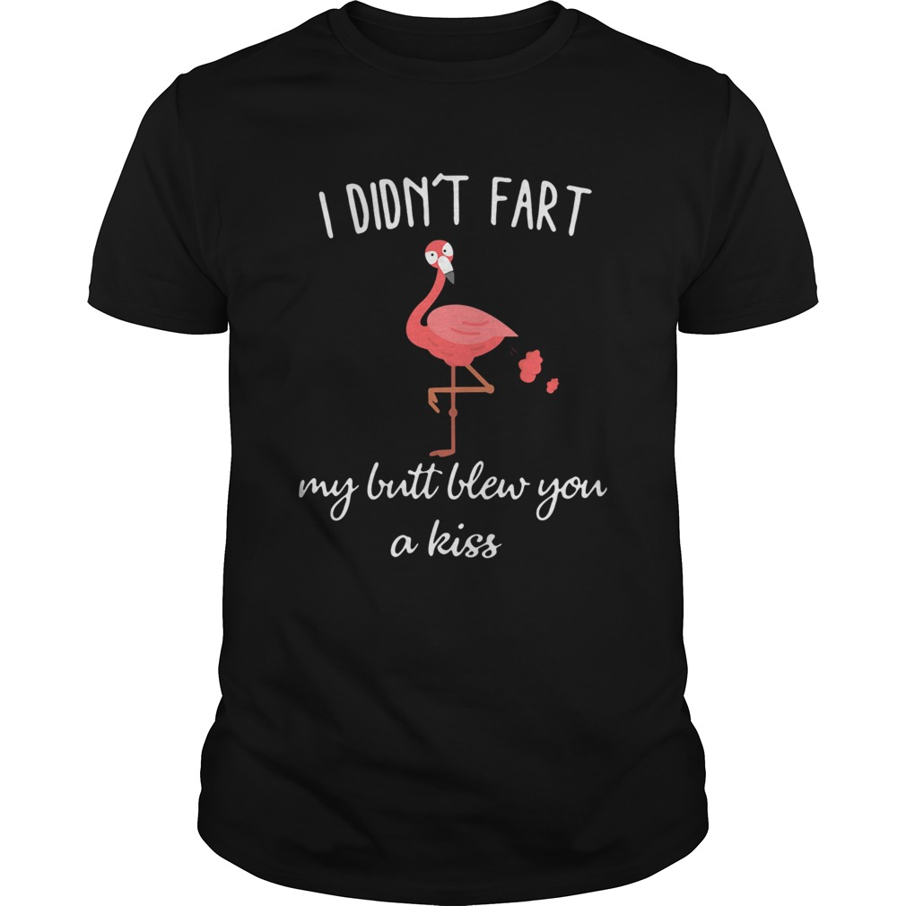 Flamingo i didnt fart my butt blew you a kiss L Unisex