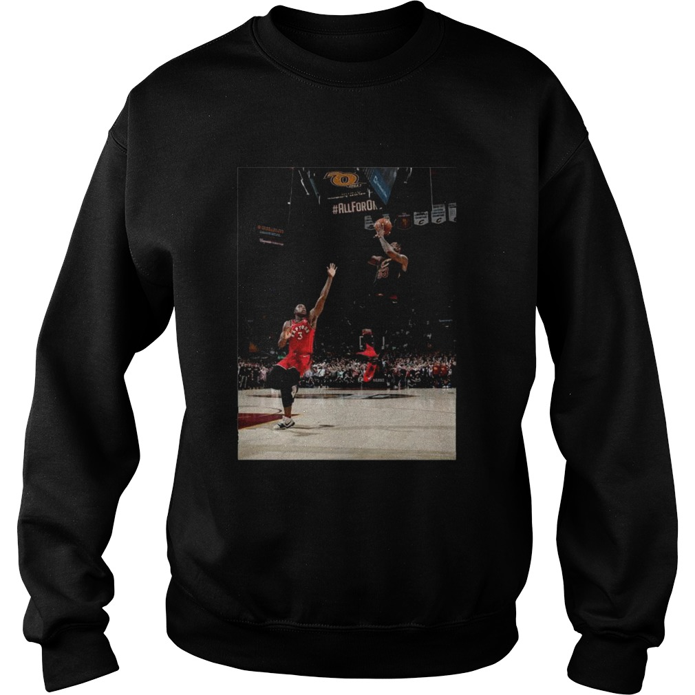 Og Anunoby Game Winner Lebron Sweatshirt