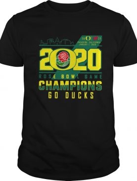 Oregon Ducks 2020 Rose Bowl Game Champions Go Ducks shirt