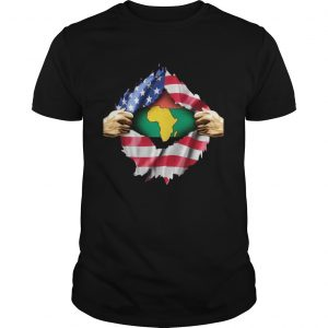African Blood Inside My American  Unisex