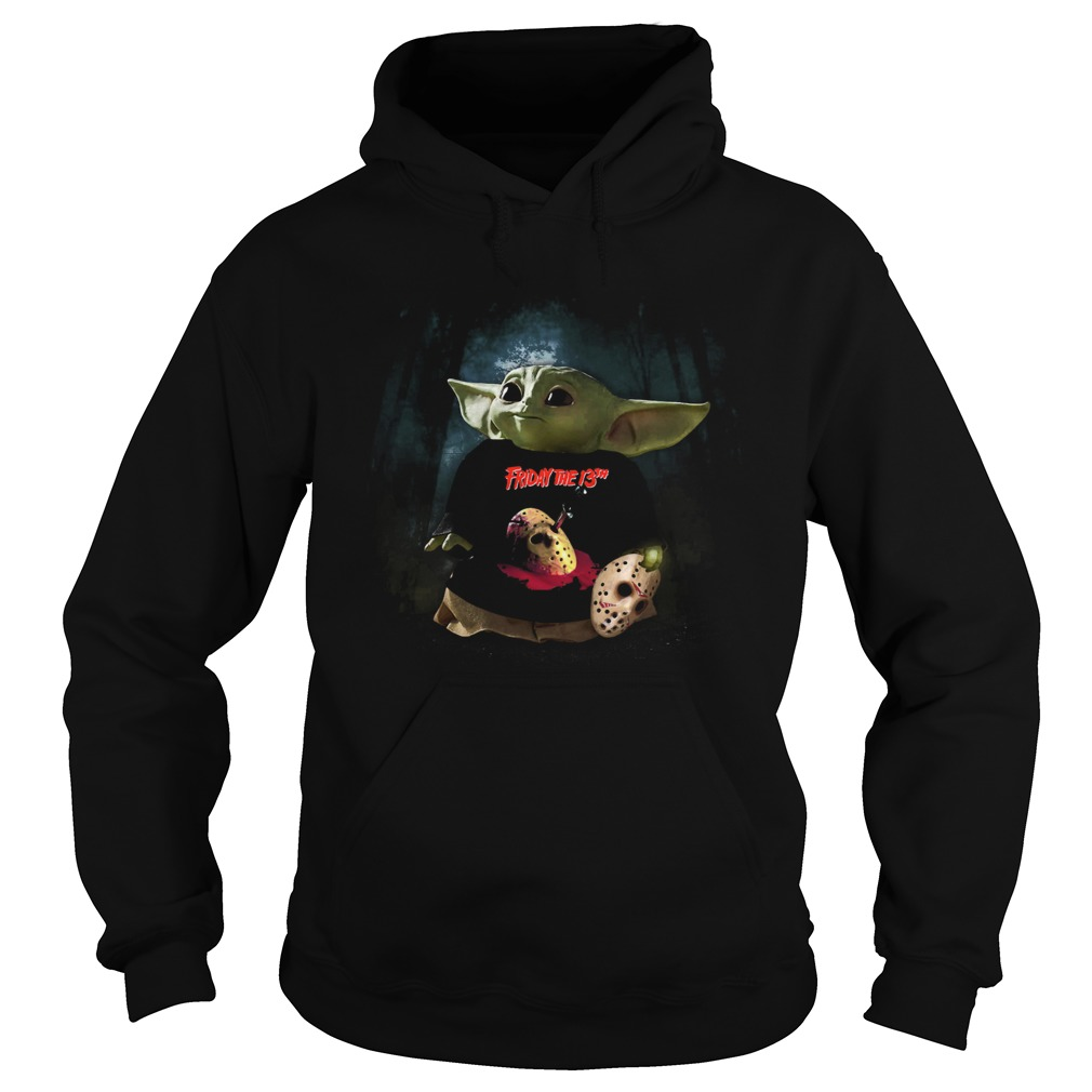 Baby Yoda Friday The 13th Hoodie