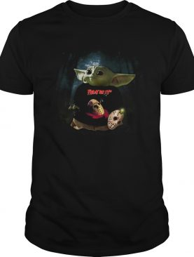 Baby Yoda Friday The 13th shirt