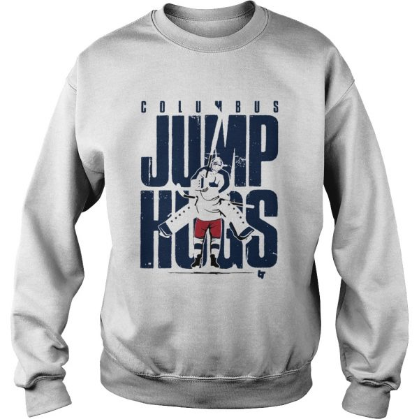 Columbus Jump Hugs  Sweatshirt