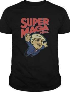 Donald Trump Super Maga Pres shirt