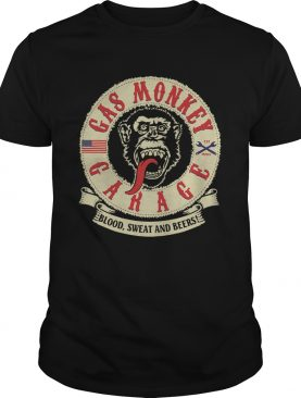 Gas Monkey Garage Blood Sweat And Beers shirt
