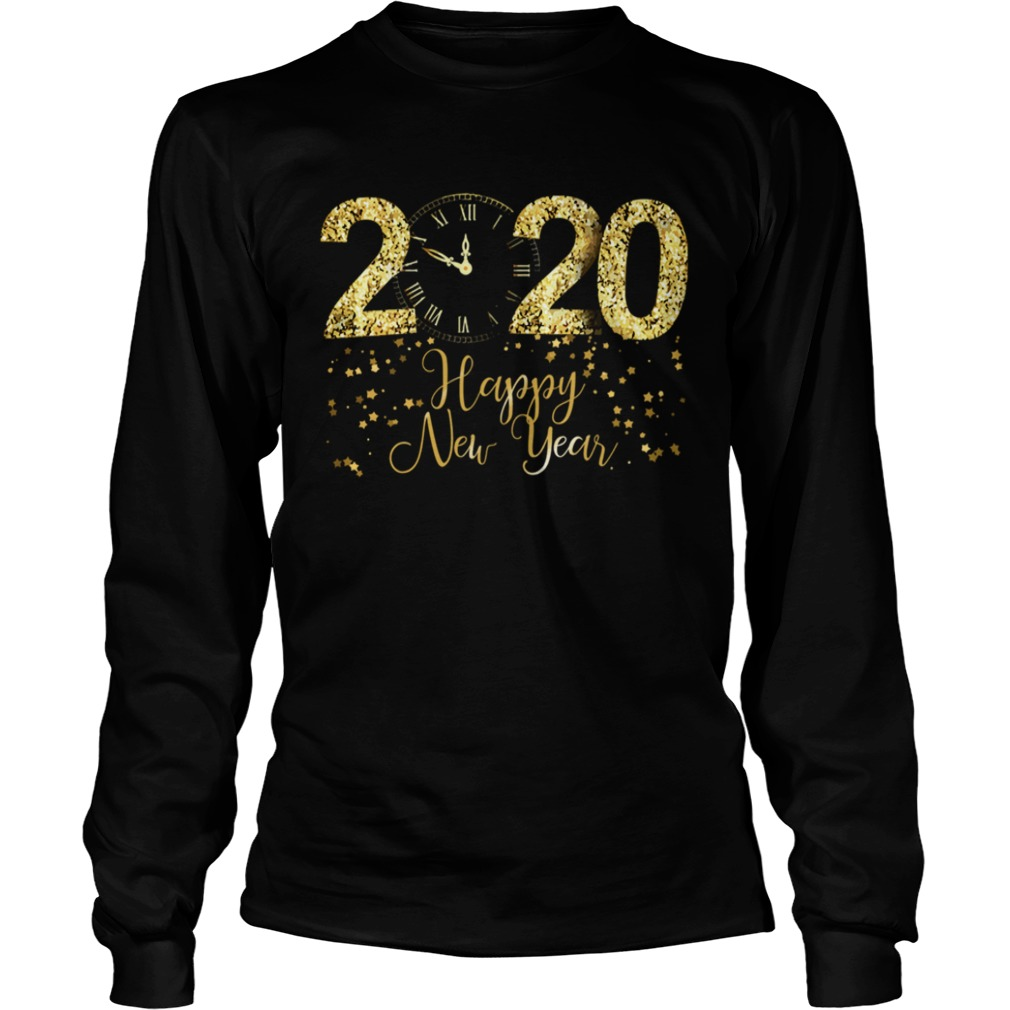 Happy New Year 2020 Cool New Years Eve Day Party LongSleeve