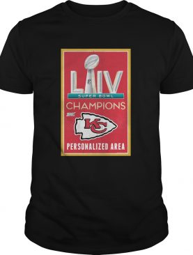 Kansas City Chiefs Super Bowl LIV Champions 2020 shirt