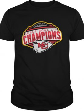 Kansas City Chiefs Super Bowl LIV Champions shirt