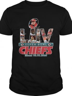 Kansas City Chiefs Super Bowl Miami 20022020 shirt