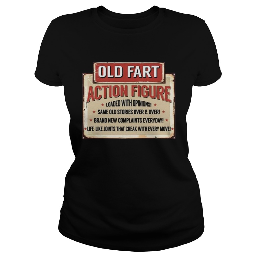 Old Fart Action Figure For Old Man Club Classic Ladies